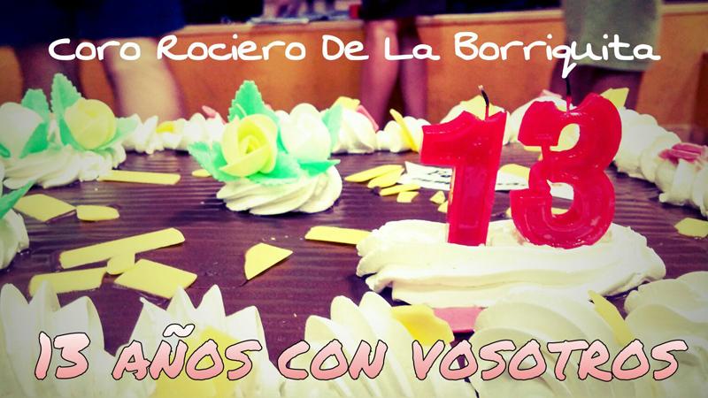 XIII Aniversario Coro Rociero de La Borriquita Montoro