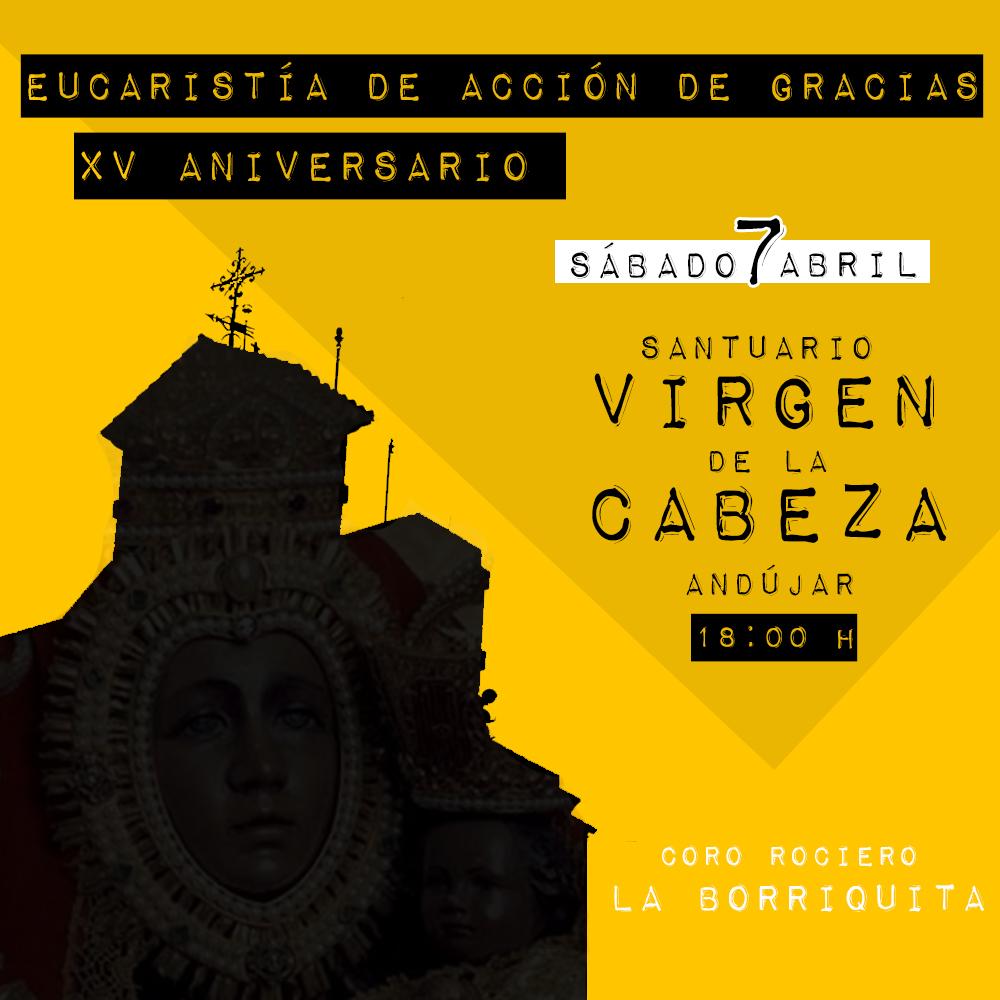 coro rociero borriquita virgen de la cabeza xv aniversario